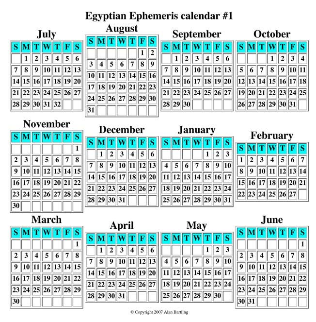 Egyptian-Ephemeris-Calendar-1