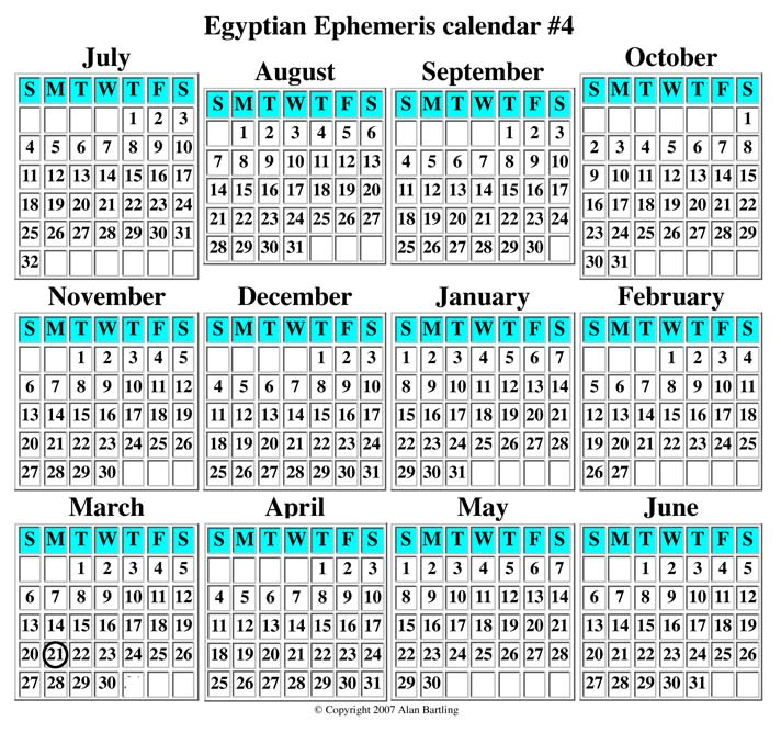 Egyptian-Ephemeris-Calendar-4