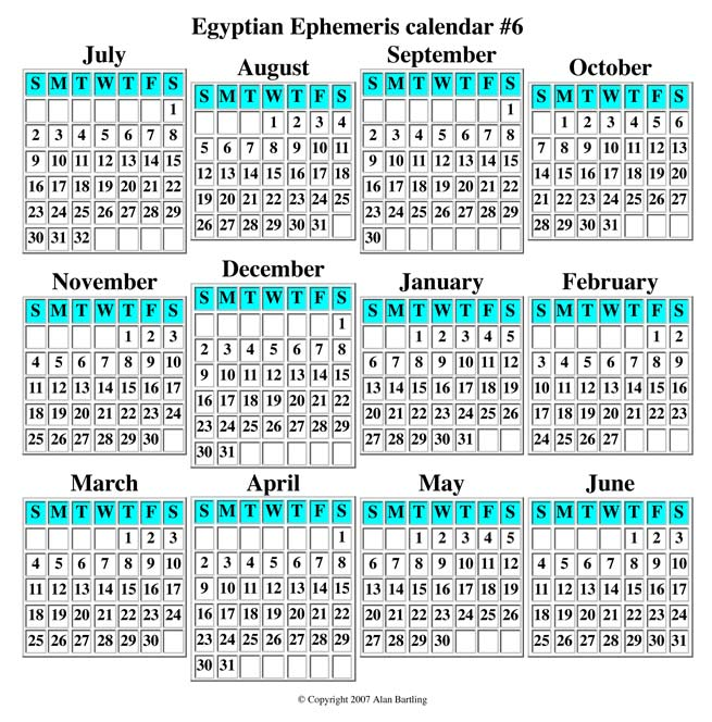 Egyptian-Ephemeris-Calendar-6