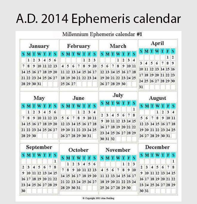 Time * - Enoch Solar Calendar